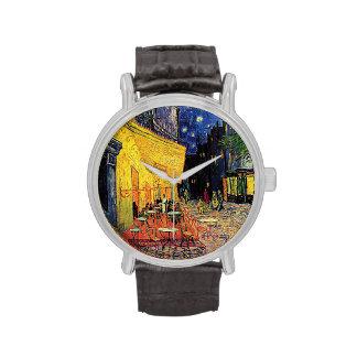 Vincent Van Gogh's 'Cafe Terrace' Watch
