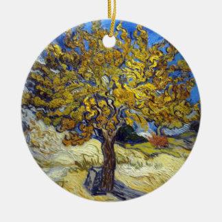 Vincent Van Gogh's Mulberry Tree Ceramic Ornament