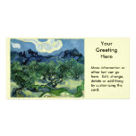 Vincent van Gogh's Olive Trees (1889) Photo Card Template