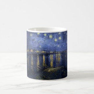 Vincent van Gogh's Starry Night over the Rhone Coffee Mug