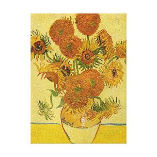 Vincent Van Gogh's 'Sunflowers' Canvas Print
