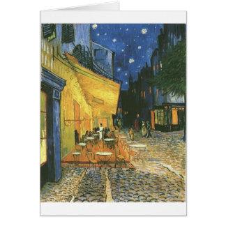 Vincent van Gogh's The Cafe Terrace Card