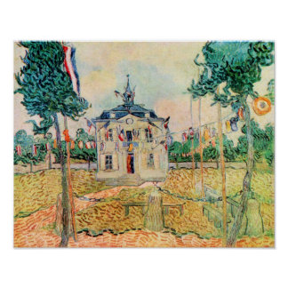 Vincent Willem van Gogh-14 July in Auvers Poster