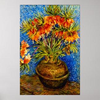 Vincent Willem van Gogh - Fritillaries Poster