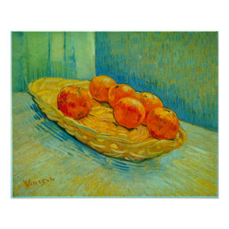 Vincent Willem van Gogh - Six Oranges Poster