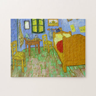 Vincent's Bedroom in Arles by Vincent Van Gogh Jigsaw Puzzle