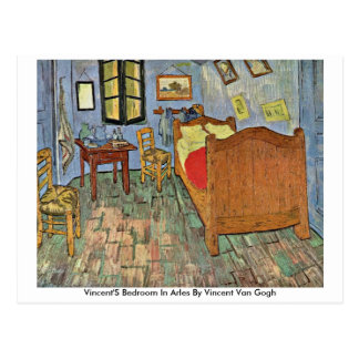 Vincent'S Bedroom In Arles By Vincent Van Gogh Postcard