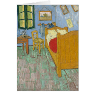 Vincent's Bedroom in Arles Card