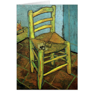 Vincent's Chair & His Pipe Van Gogh Fine Art Card