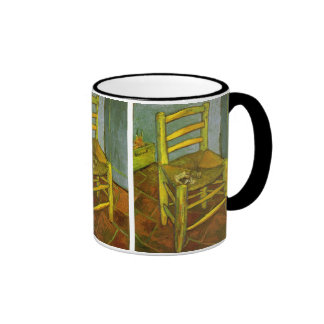 Vincent's Chair with His Pipe by van Gogh Ringer Coffee Mug