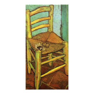 Vincent's Chair with His Pipe by Vincent van Gogh Picture Card
