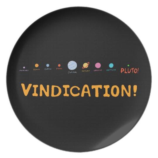 Vindication! Plate