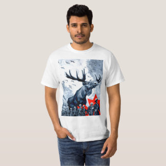 Vindictive Canadian Moose Overlord T T-Shirt