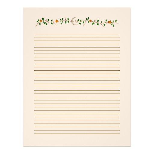 Custom Staff Paper