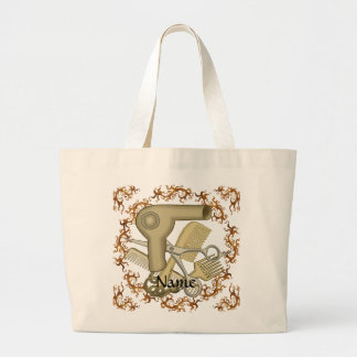 Vine Border Beautician jumbo tote bag