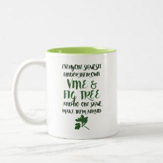 Vine & Fig Tree Mug