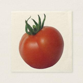 Vine ripened tomato paper napkins