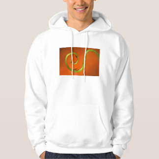Vine tendral with water, California Hoodie
