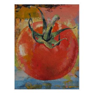 Vine Tomato Postcard