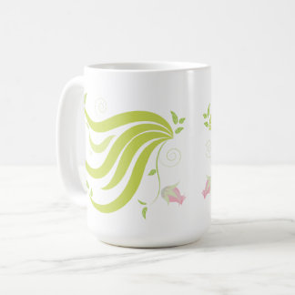 Vine with Flower Coffee Mug