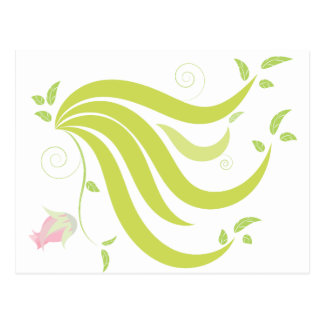 Vine with Flower Postcard