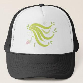 Vine with Flower Trucker Hat