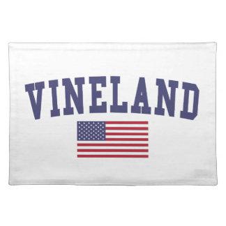 Vineland US Flag Placemat