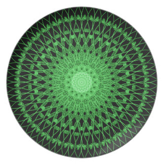Vines Mandala Party Plate