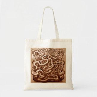 Vines of Brown Tote Bag