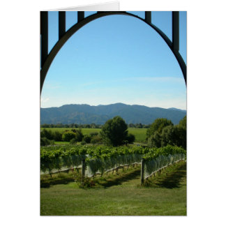 Vineyard Archway Card
