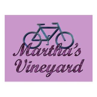 Vineyard Bicycle Postcard