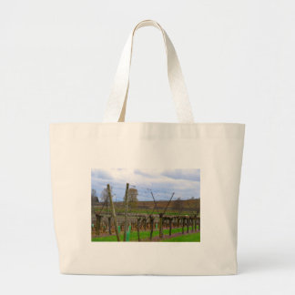 Vineyard, Grapevines the French countryside Large Tote Bag