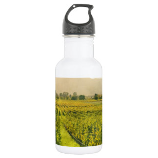 Vineyard in Autumn in Napa Valley California 532 Ml Water Bottle