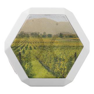 Vineyard in Autumn in Napa Valley California White Bluetooth Speaker