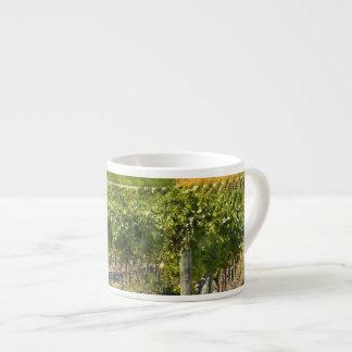 Vineyard in Napa Valley California Espresso Cup