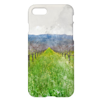 Vineyard in Napa Valley California iPhone 7 Case