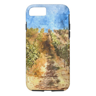Vineyard in Napa Valley California iPhone 7 Case
