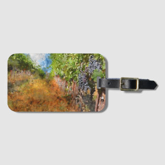 Vineyard in Napa Valley California Luggage Tag
