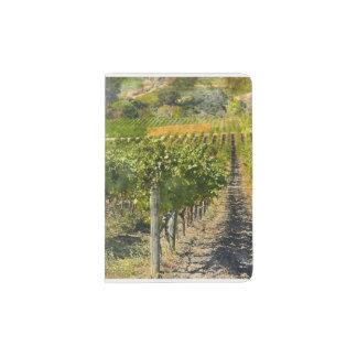 Vineyard in Napa Valley California Passport Holder