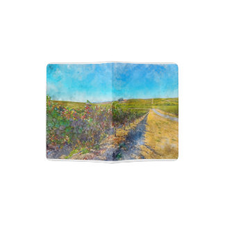 Vineyard in Napa Valley California Passport Holder