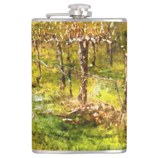 Vineyard in Napa Valley Flasks