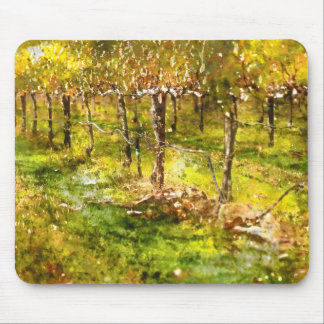 Vineyard in Napa Valley Mouse Pad