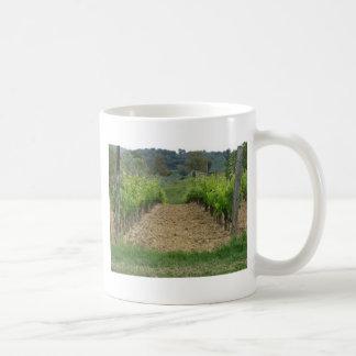 Vineyard in spring . Tuscany, Italy Coffee Mug