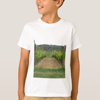 Vineyard in spring . Tuscany, Italy T-Shirt