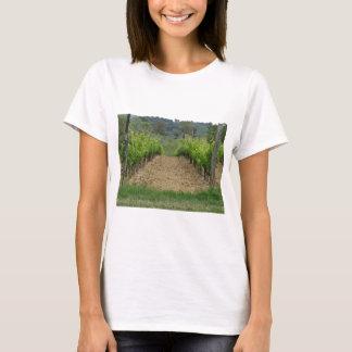 Vineyard in spring . Tuscany, Italy T-Shirt