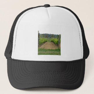 Vineyard in spring . Tuscany, Italy Trucker Hat
