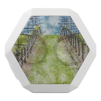 Vineyard in the Spring White Bluetooth Speaker