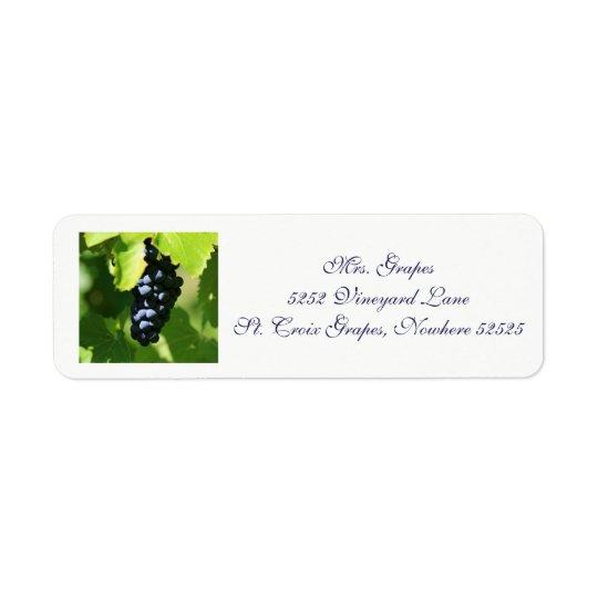 Vineyard label 1 2017