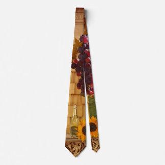 Vineyard or Wine Theme Tie