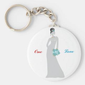 Vineyard Pride Bride Keychain